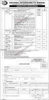 National Accountability Bureau (NAB) Islamabad Jobs 2020