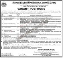 Excise, Taxation & Narcotics Control Department Sindh Jobs 2020
