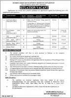 Hydrocarbon Development Institute of Pakistan Jobs 2020