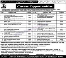 PITB Jobs 2020 Latest Advertisement Apply Online Application Form