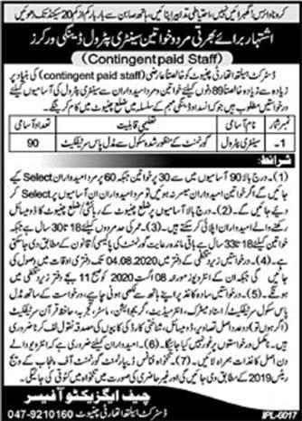 District Health Authority Chiniot Jobs July 2020