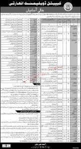Capital Development Authority Jobs 2020 - www.cda.gov.pk