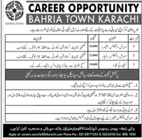 Bahria Town Karachi Jobs July 2020