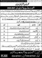 Irrigation Department Jhelum Canal Division Jobs Latest 2020