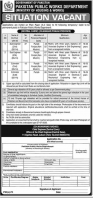 Pakistan Public Works Department PWD Jobs 2020
