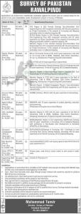 Survey Of Pakistan Jobs 2020 Downloadable Online Application Form | www.sop.gov.pk