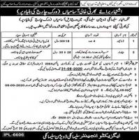 Irrigation Department Government Of Punjab Jobs August 2020