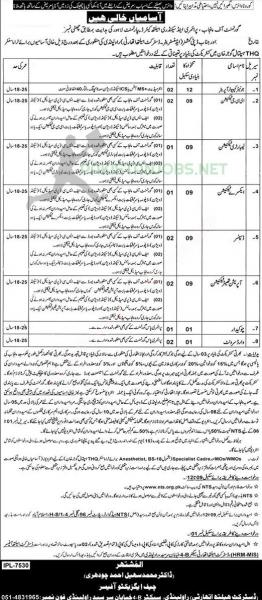 The Primary And Secondary Health Department Jobs September 2020