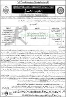 District Health Authority Jobs 2020 Latest Ad September 2020