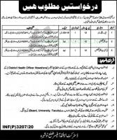 District Health Authority Latest Jobs 2020 in Pakistan