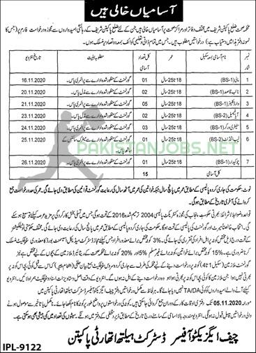 Health Department Jobs 23 October 2020 Latest Ad
