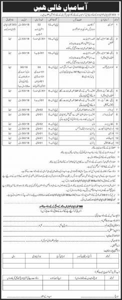 Pakistan Army 303 EME Cantonment Jobs October 2020