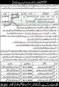Punjab Education Department Jobs 2020
