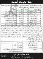 District Headquarter Hospital Jobs October 2020
