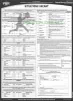 FBR fbr.gov.pk Federal Board of Revenue Jobs October2020