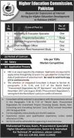 HEC Pakistan Higher Education Commission Jobs October 2020