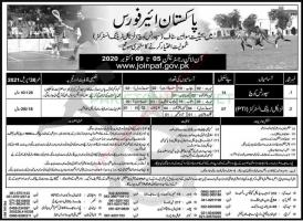 Join PAF As A Sports Trainer And Training Instructor 2020