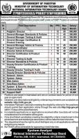 NITB Jobs 2020 - Ministry of Information Technology Jobs 2020 Apply Online