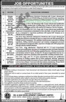 Oil And Gas Development Company OGDCL Jobs 2020