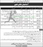 pak Army Civil Jobs 2020 Regimental Center