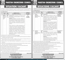 Pakistan Engineering Council PEC Jobs 2020 Latest