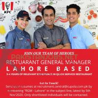 General Manager Jobs At KFC October 2020