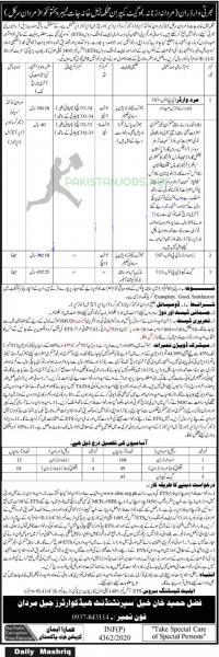Prison Department Jobs November 2020 Latest www.eliite.org.pk Apply Online