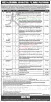Directorate General Information & PRs, KPK Jobs 2020 Latest Advertisement