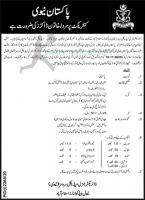 Join The pakistan Navy On Contract As Doctors October 2020 Advertisement