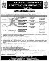 nadra Jobs Nov 2020 National Database & Registration Authority