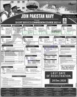 Join Pakistan navy through SSC 2021-A