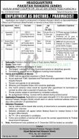 Pakistan rangers Jobs 2021 Latest Advertisement