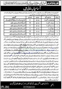 District Health Authority 2021 Job Advertisement