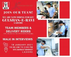 KFC Jobs | Latest Jobs at KFC | 2021