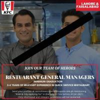 KFC Jobs | Restaurant General Manager Jobs LH & FSD