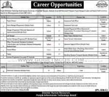 PITB Jobs 2021 Punjab Apply Online | jobs.punjab.gov.pk