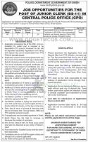 Sindh Police Junior Clerk Jobs 2021 Apply Online By PTS