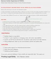 DHL Jobs 2021 Latest Advertisement