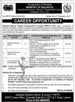 Pakistan Railway Jobs 2021 February