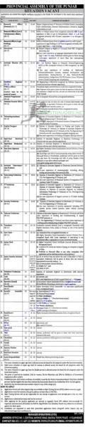 Punjab Assembly Jobs March 2021 - ots.org.pk Application Form