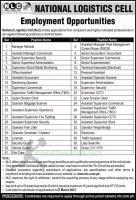 NLC Jobs 2021 National Logistics Cell Application Form