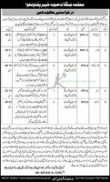 Forest Department Jobs 2021 Application Form | www.few.kp.gov.pk
