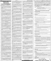 FPSC Jobs 2021  - FPSC Consolidated Advertisement No 02 2021