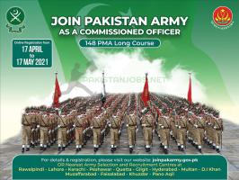 Join Pak Army Jobs 2021 PMA 148 Long Course Online