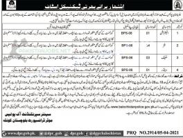 Motor & Transport Department Police Jobs 2021