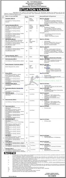 Ministry Of Interior Jobs May 2021