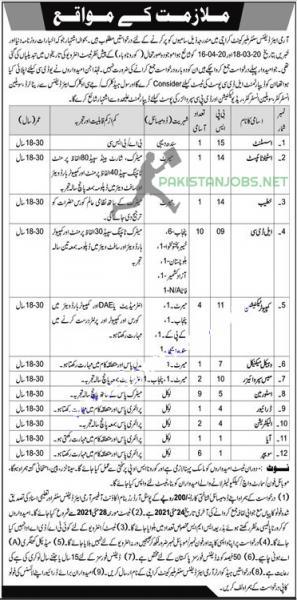 Pakistan Army Air Defense Center Malir Cantt Jobs 2021