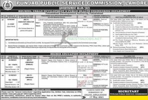 PPSC Jobs 2021 Ad No 9 2021