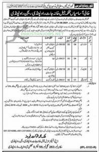Prison Department Rawalpindi Jobs 2021