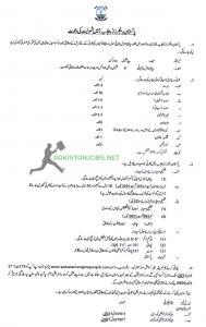 Punjab Rangers Punjab Jobs 2021 Latest